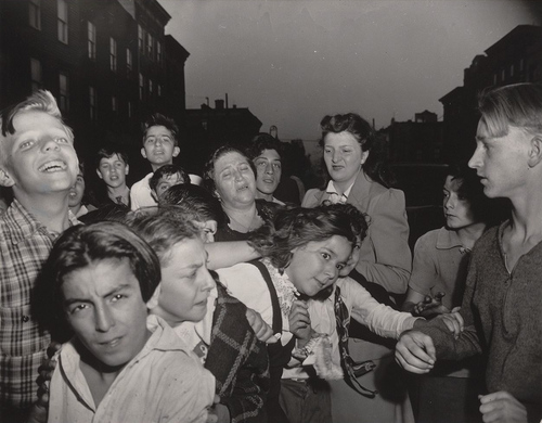 weegee_brooklyn_school_children